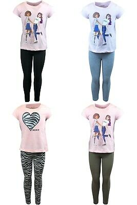 T-shirt leggings Minions summer set outfit t-shirt and leggings cotton girls
