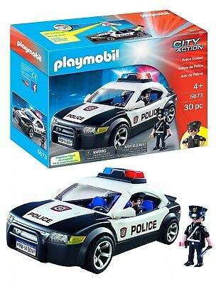 PLAYMOBIL 5673 Polizeiauto USA  Police Car Neu & Ovp City Action