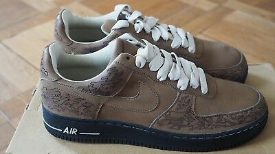timeless design e5e86 cb79e Nike Air Force I Laser Stephan Maze Gr. EU 45 US 11 Neu