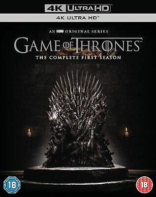 Game of Thrones - Season 1 (4K Ultra HD + Blu-ray) Emilia Clarke, Peter Dinklage