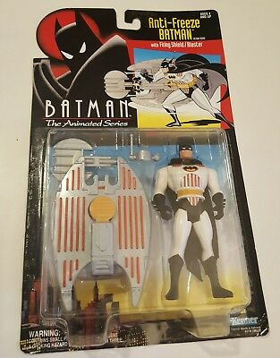 Batman the Animated Series, Anti-Freeze Batman Action Figure New on Card