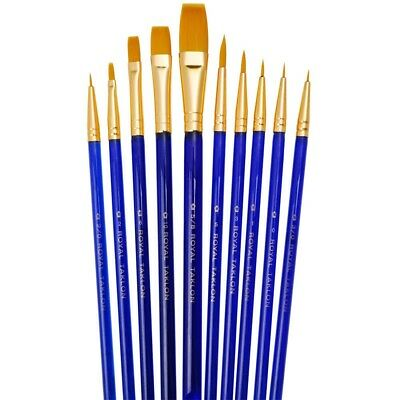 Royal Langnickel -Svp1- 10 Brushes Pack - Ideal For Watercolour, Oil And Acrylic