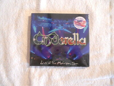 "Cinderella ""Live at the Mohegan Sun"" 2009 cd Frontiers Rec. Digipack Sealed New"