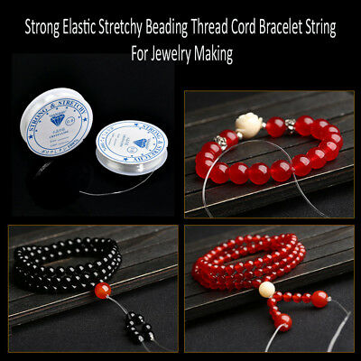 Elastic String Stretchy Beading Thread Cord Bracelet String For Jewelry Making