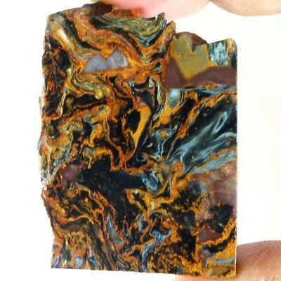 Best Offer Rate Gorgeous Namibian Pietersite Rough Slab//Material For Cabbing