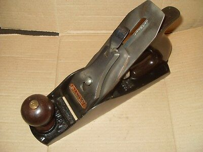 Stanley Bailey No.4 Plane - Made In England - Plastic Handles - As Photo's