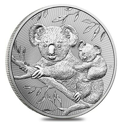 2018 2 oz Silver Australian Koala Perth Mint BU Next Generation Series