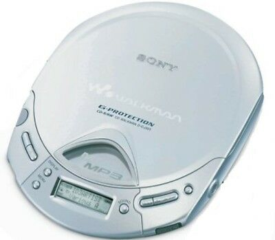 Sony MP3 CD Walkman - Personal Portable CD Player (D-CJ501/S)