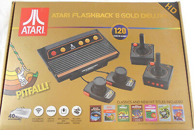 Atari Flashback 8 Classic Game Console with 105 Classic Games Preloaded