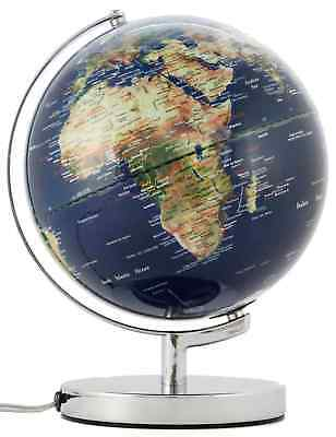 Emform Globe 24cm Illuminated Terracotta Physical No. 2