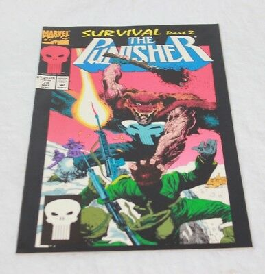 Marvel Comics: The Punisher Survival Part 2 Vol.ii #78 May 1993 (T-1 #143)