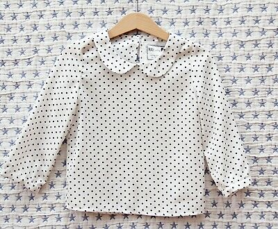 Bluse   ♥♥ Young Dimension ♥♥ polka dot Gr. 98 elegant