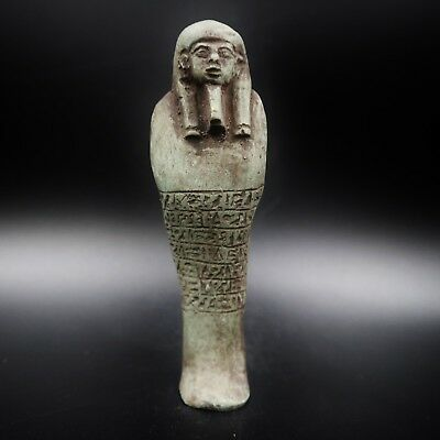 Fine Ancient Egyptian Stone Ushabti (Shabti) Statue Figure, 300 BC Late Period