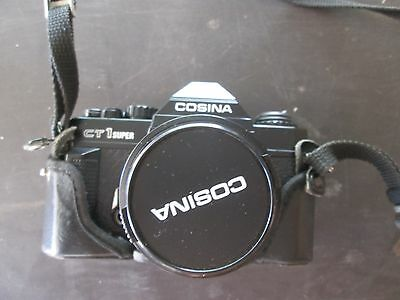 Vintage collectable Cosina ct1 super camera and protective case