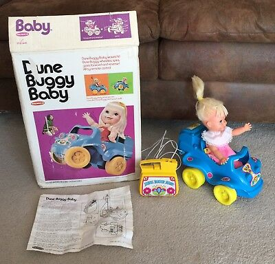 Vintage Remco Dune Buggy Baby Doll 3440 Remote Control Car 1972