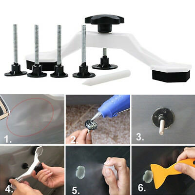 Paintless Car Auto Vehicle Dent Body Damage Fix Tools Pulling Dent Removal Glue