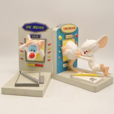 Official Warner Bros Pinky and the Brain Collectible Bookends