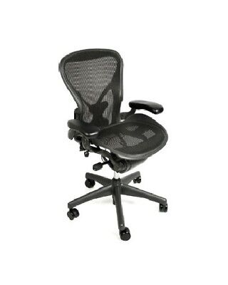 Herman Miller Aeron Chair, Size C, All Features, Plus Adjustable Posturefit