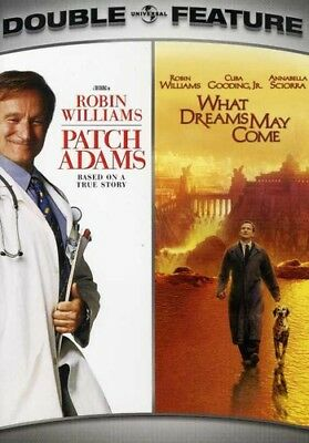 Patch Adams/What Dreams May Come [2 Discs] (DVD Used Like New) WS