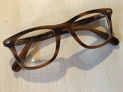bdfe3dbfcd RAY-BAN EYEGLASSES RB RX 5317 5384 50MM BROWN HAVANA FRAME gently used