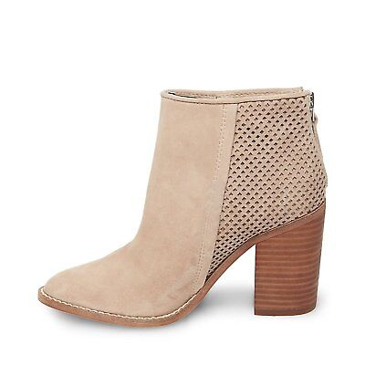 59f12ad5433 STEVE MADDEN WOMENS replay Suede Almond Toe Ankle Fashion Boots ...