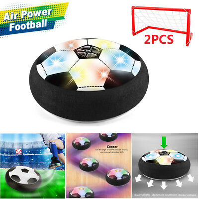 Air Football Soccer Power Disk Disc Hover Glide Ball Kids Toy For Worldcup Fans