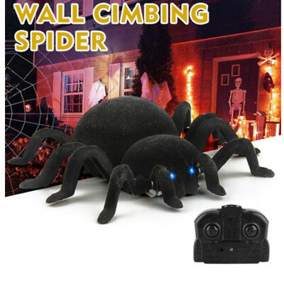 Terrifying RC Creepy Scary Wall Climbing Spider Remote control Car Trick Toys UK