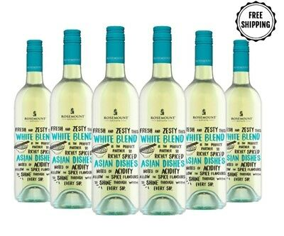 $35 Delivered Wine Rosemount Meal Matcher White Blend 2016 6x750ml FreeShipping