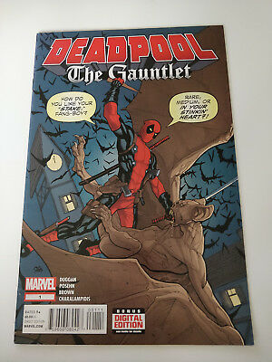 Deadpool  The Gauntlet #1 2014  Marvel Comics First Print  Excellent Condition