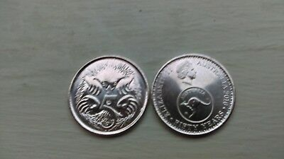 2016 changeover 5 cent coins. UNC Price per coin. ONLY 5 LEFT AT THIS PRICE