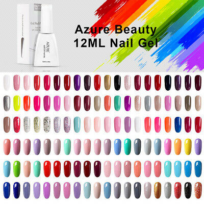 Azure 12ml UV LED Gel Nagellack Nail Polish Nagegel Gel Lacke Maniküre 119 Farbe