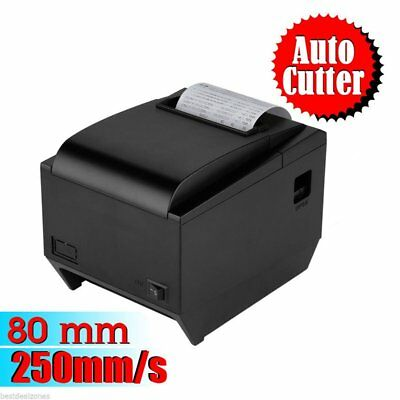 POS Thermal Receipt Printer 58mm Auto Cutter Serial Port/USB/Ethernet Mini EY A2