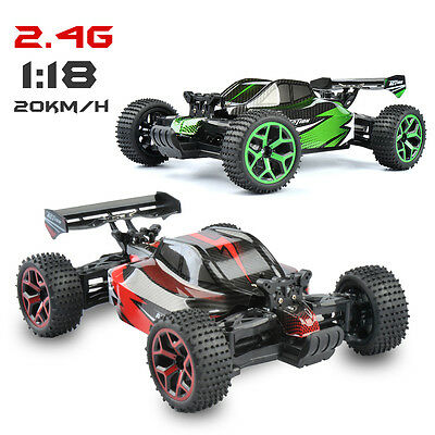Radio Remote Control Rc Car/buggy Very Fast 1/18 Rtr 2.4G Extreme Monstertrucks