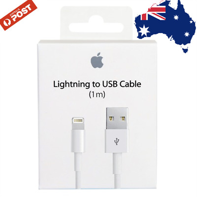 4 x Genuine Apple Lightning Data Cable Charger for iPhone 7 7 Plus 6 5 S C iPad