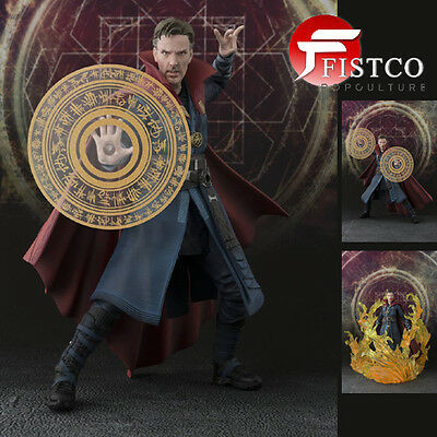 DOCTOR STRANGE - S.H. Figuarts Actionfigur Doctor Strange & Burning Flame Set