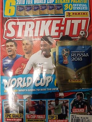 STRIKE-IT  ISSUE 87 12th 10th May- 6th June 2018  with free gifts