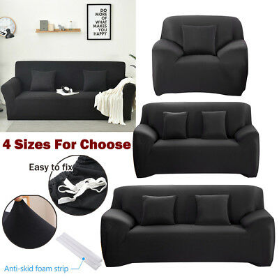 Couch Sofa Lounge Covers EASY Stretch Recliner 1 2 3 4 Seater Dining Chair Cover