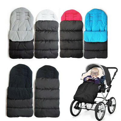 Footmuff Cotton Pad Fit Pushchair Buggy Stroller Pram Baby Cosy Toes Universal