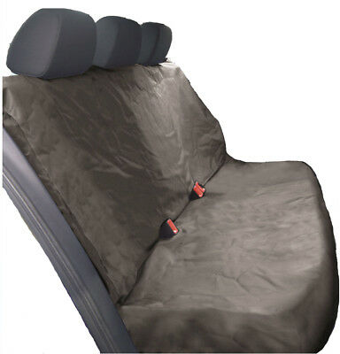 HEAVY DUTY GREY REAR SEAT COVER for MERCEDES-BENZ SLK ROADSTER 11-ON