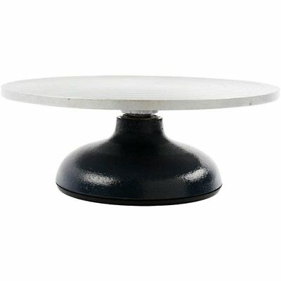 Creativ Company - Potter's Pottery Wheel, D: 18 cm, Cast Iron Base, Steel Top