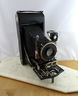 Antique Vintage 3A Autographic Kodak Special Folding Camera Model B Large