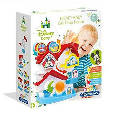 New Clementoni Disney Mickey Mouse Baby Ball Drop House Playset