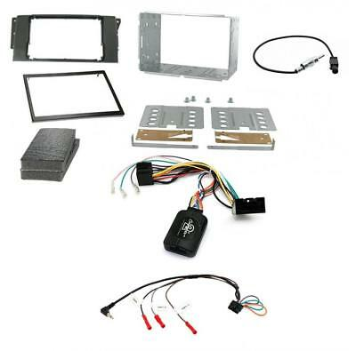 Complete Double Din Car Stereo Fitting kit for Land Rover Discovery 3 04-09