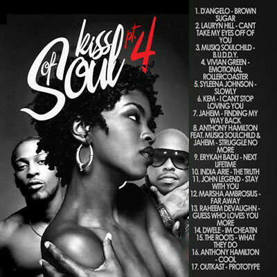 Kiss Of Soul 4 Classic Hits Mixtape DJ Compilation