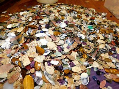 2000Ct Top Quality Mix Wholesale Lot Natural Mix Loose Gemstone Cabochon 5837