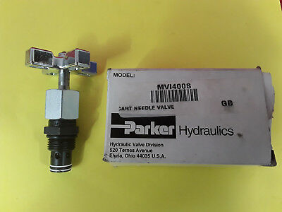 Parker Hydraulics Hydraulic Needle Valve Cartridge MV1400S *