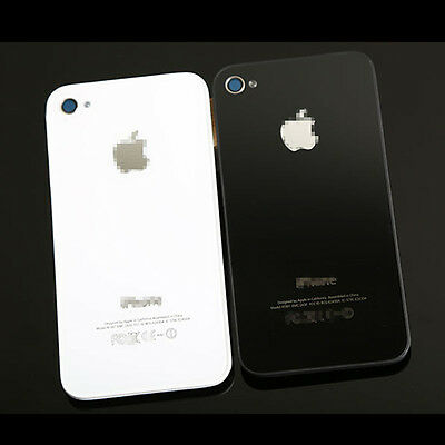 For Apple iPhone 4 4s Hot Rear Glass Complete Battery Back Door Cover Case