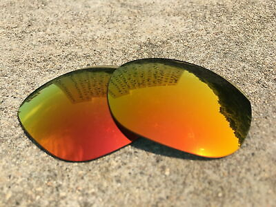 IR.Element Polarized Replacement Lenses for-Oakley Garage Rock -Fire Red