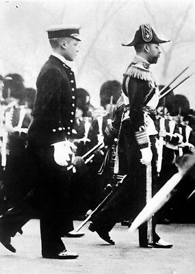 New 8x10 Photo: King George V at the Funeral of his father, King Edward VII