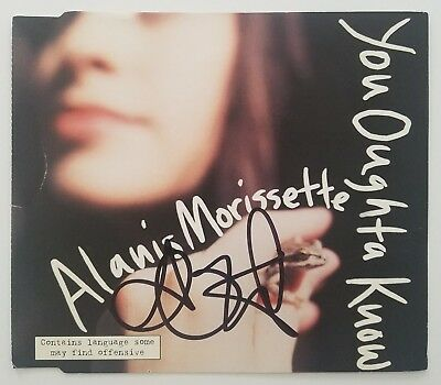 Autographs-original Alanis Morisette Signed Autograph On Stage Color 8x10 Photo High Quality And Inexpensive